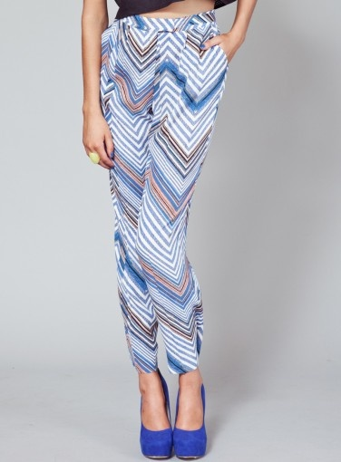 When You Dream Pants in Chevron Print #goshcelebrity #fashion #style #finderskeepers #label