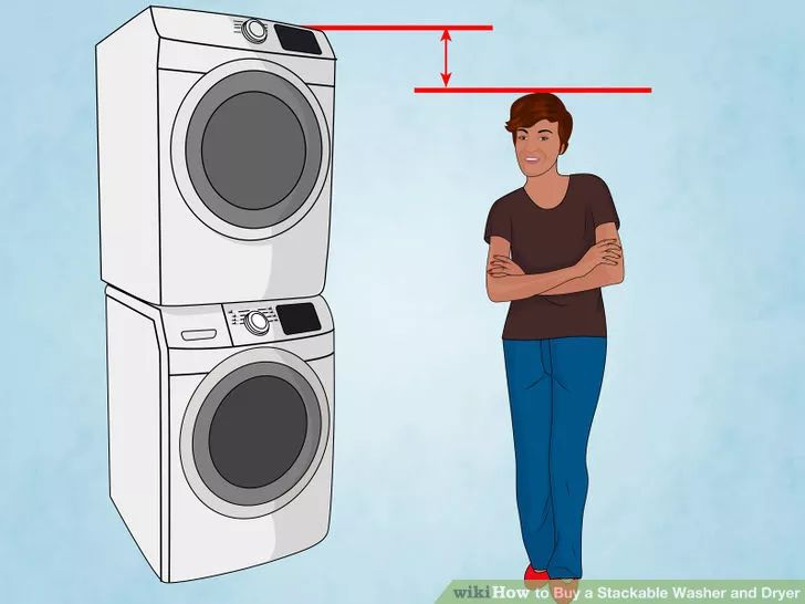 Image titled Buy a Stackable Washer and Dryer Step 4