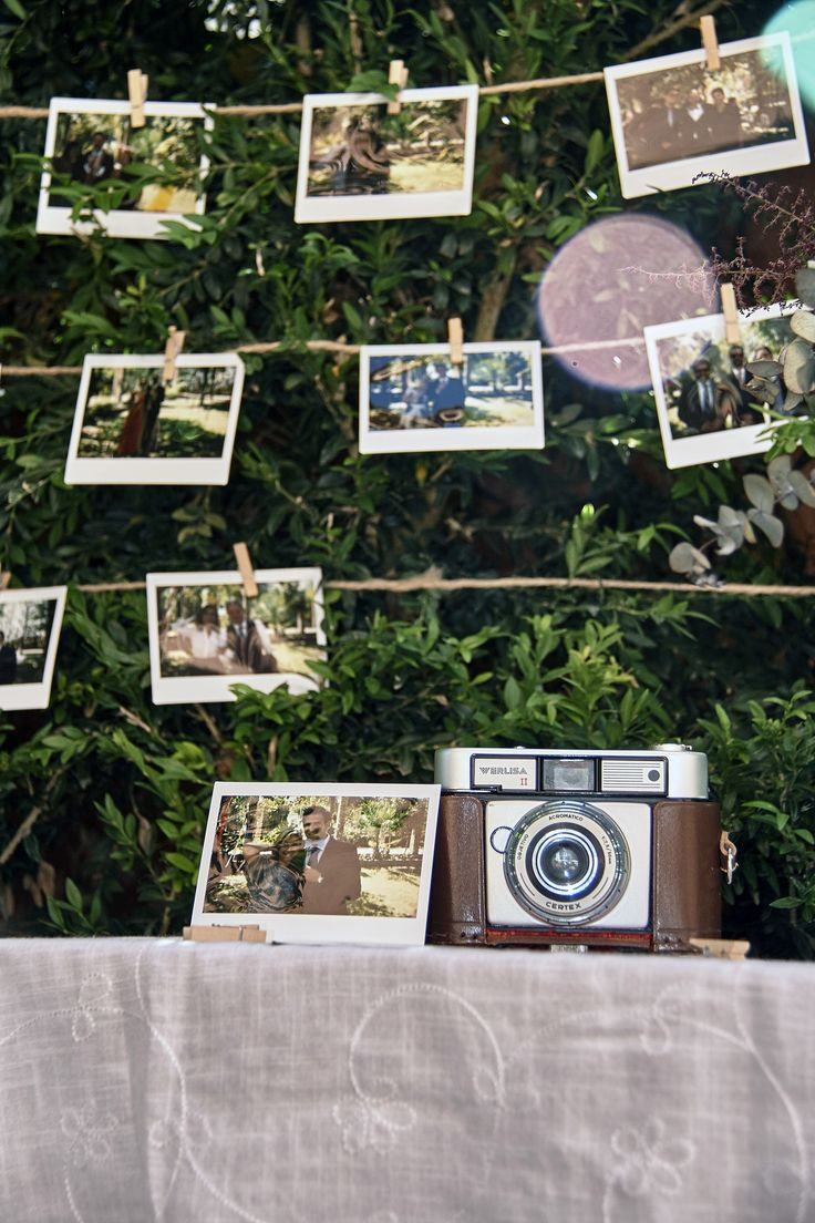 Rincón Polaroid / Wedding Polaroid Corner