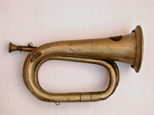 Bugle that was used in the Civil War