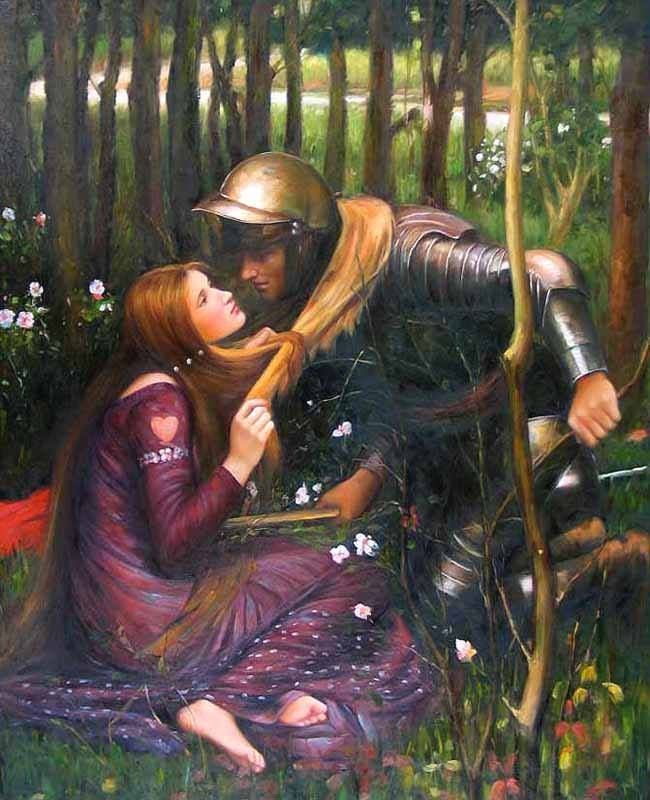 John William Waterhouse - La Belle Dame Sans Merci