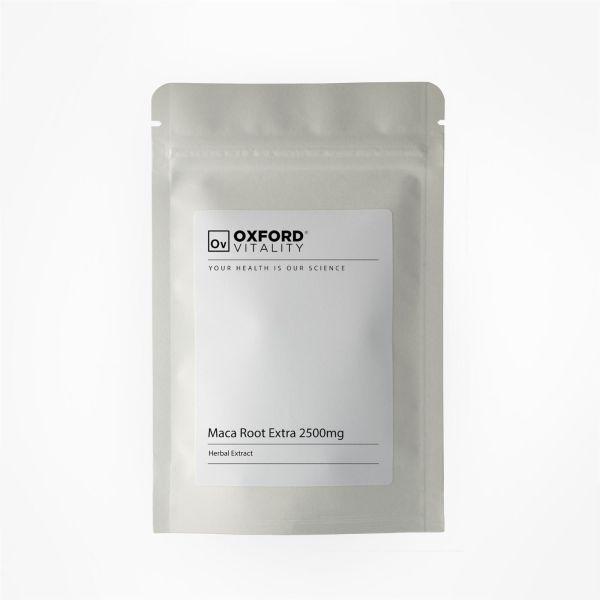 MACA ekstrakt 10:1 2500mg 500 tabletek Oxford Vitality TOPwitaminy