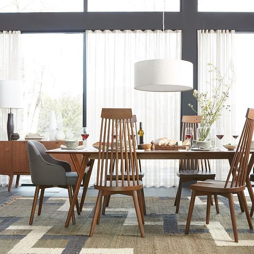 Parker Mid-Century Expandable Dining Table  west elm  condo remodel ...