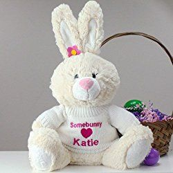 Personalized Plush Easter Bunny, 12""