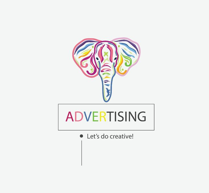 Just a logo of my advertising task
