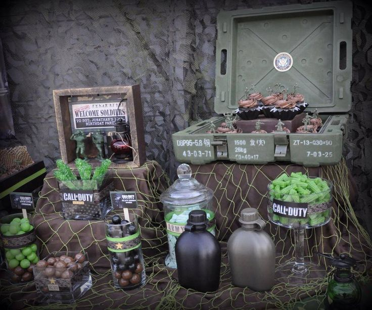 Army party ideas army man camo party pinterest