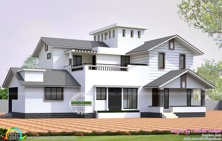 Best 25 kerala house design ideas on pinterest indian for Exterior house drawing
