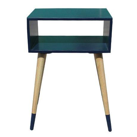 Open Side Table  Indigo