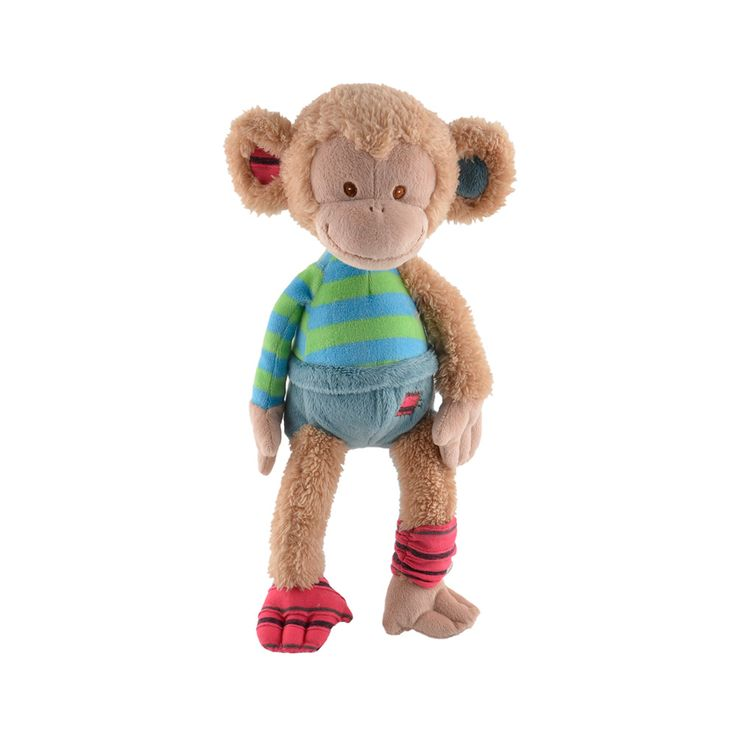 Doudou singe - Uncle Monkey - Collection Barbara Bukowski