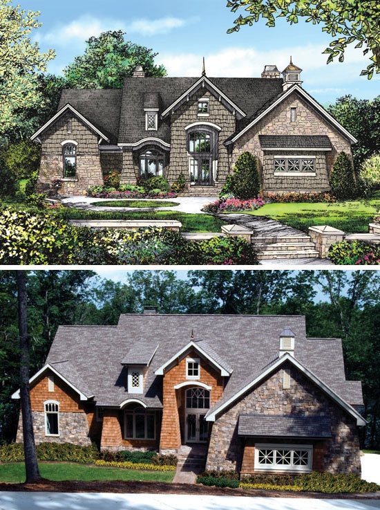 17 best images about rendering to reality on pinterest for Rear access home designs
