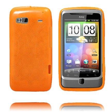 Amazona (Oransje) HTC Desire Z Deksel