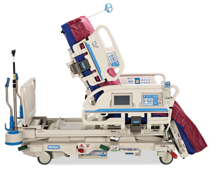 CAMA HILL-ROM PROGRESSA Superficie pulmonar y Terapia