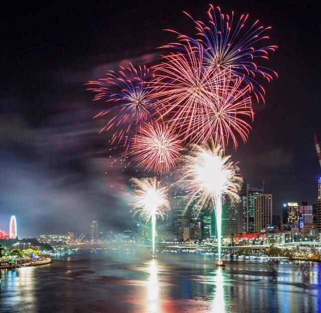 South Bank fireworks, christmas fireworks spectacular, South Bank, christmas fireworks Brisbane, christmas activities Brisbane - Might need to go down to see the fireworks this month - TheOpportunisticTravelers.com