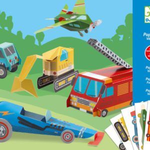 Djeco Paper Toy Trucks
