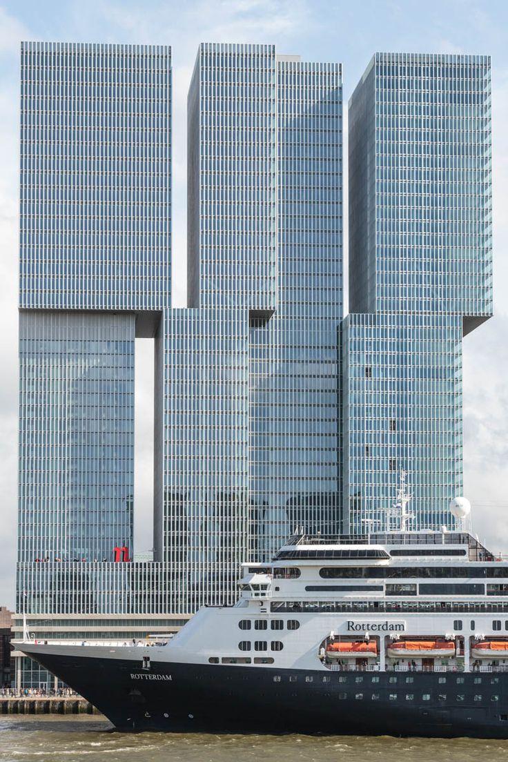 De Rotterdam (source: Freek van Arkel) #rotterdam #architecture