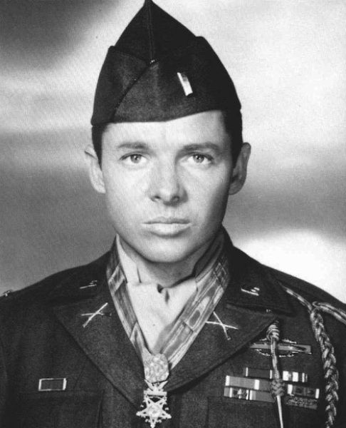 Audie Murphy-Actors in the Military