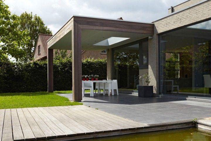 17 beste afbeeldingen over houten verandas op pinterest tuinen plantenstandaard en voetstuk - Modern overdekt terras ...