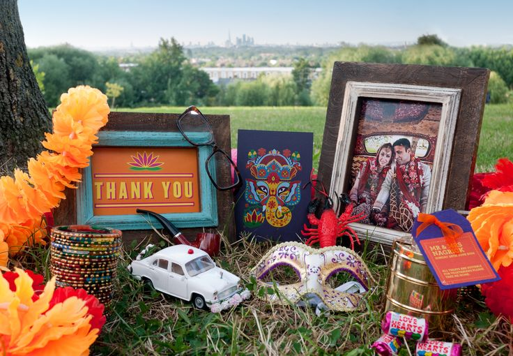 British Vintage Indian Summer Wedding designed and styled by wilmaeventdesign.com