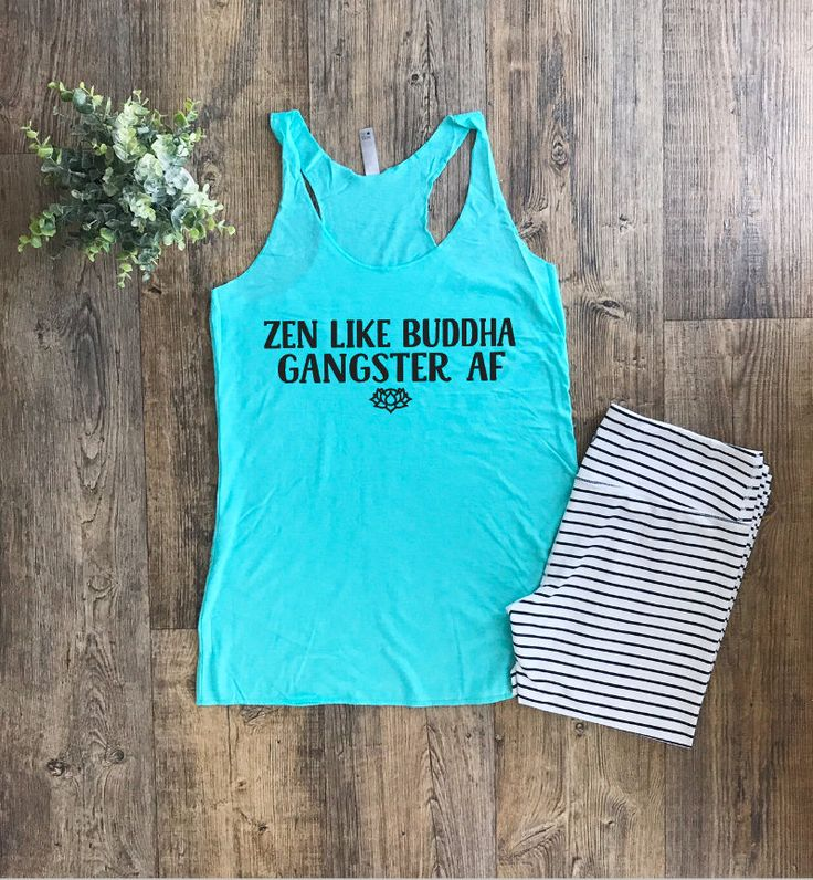 Yoga tank top | Tank Top | Womens Yoga Wear | Womens Workout Tops | Ladies Gym Top | Zen AF |