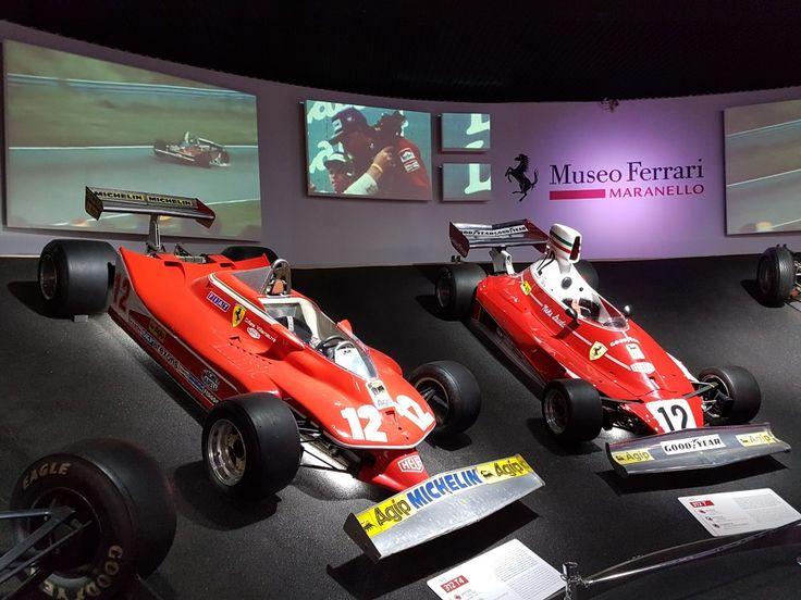 Gilles Villeneuve & Niki Lauda  seventies