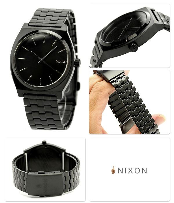 Watch Nixon ニクソン 腕時計 THE TIME TELLER A045 タイムテラー オールブラック A045001:腕時計のななぷれ