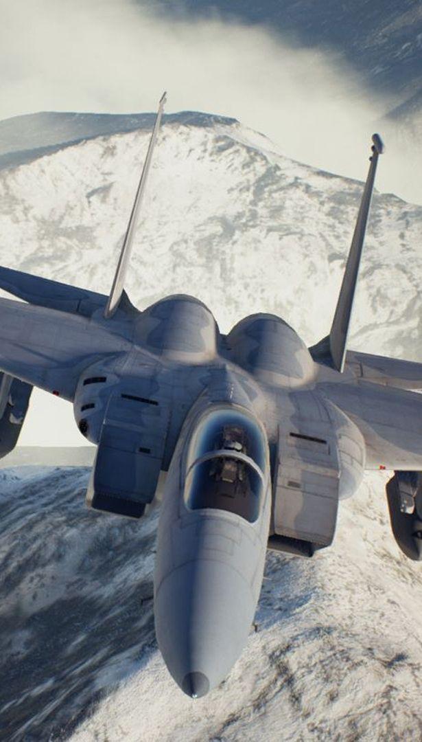 Ace Combat Assault Horizon Master File Asf X Shinden Ii With