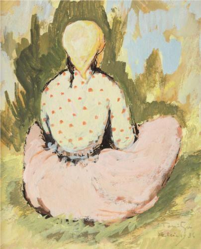 Nicolae Tonitza (Romanian: 1886-1940)   Little Tatar Girl