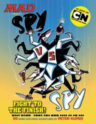 Offered again and featuring the stars of the hit Cartoon Network MAD animated series, it's a new collection of Spy vs. Spy comics hand-picked by The Usual Gang of Idiots to provide the maximum amount of idiotic espionage!