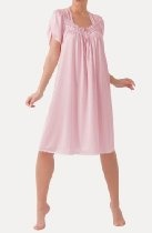 Ilusion Women's Comfy Romance Lightweight Nightgown PINK 2XL