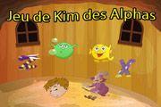 Le jeu de Kim des alphas