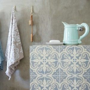 3 ways to decorate (cheap) plain ceramic tile (including type of paint that can be cured in oven at 150 F)