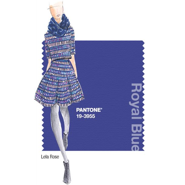 pantone fashion color report fall 2014 royal blue lela rose