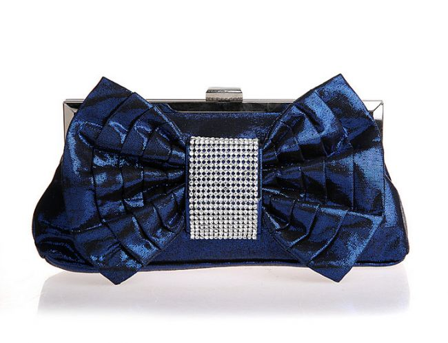 Women's Gorgeous Satin Clutch Evening Bag With Bow #ClutchBag #ClutchBags