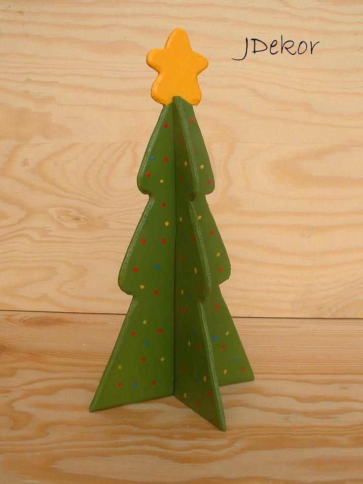 Fából 4D karácsonyfa 4d wooden Christmas tree