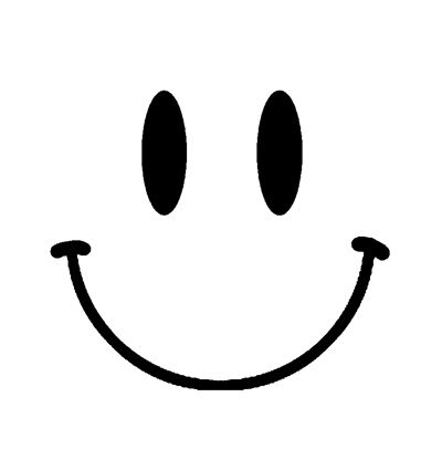 smiley face stencil | Smiley face stencil used (Image from: http://www.spraypaintstencils ...
