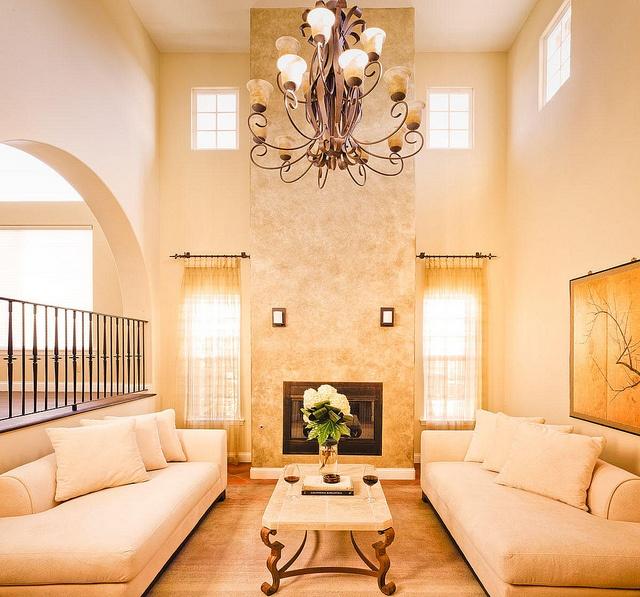 Granada Hills Transitional Living Room Design By Maureen Mahon Interiors