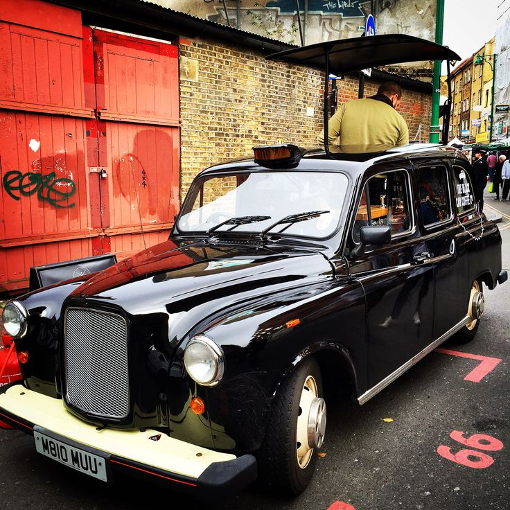 Coffee Cab. Brick Lane, London