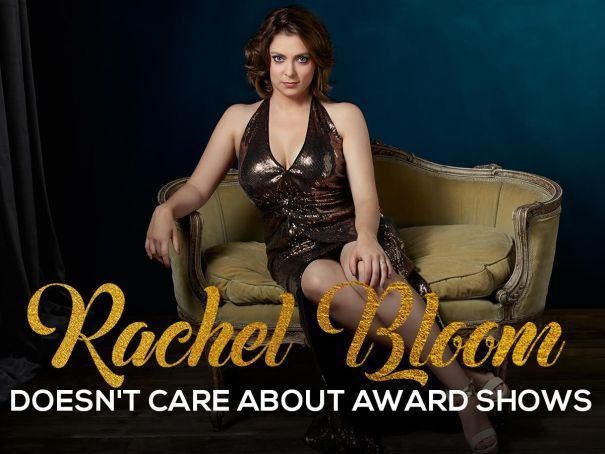 Emmys: 'Crazy Ex-Girlfriend' Star Rachel Bloom Doesn't Care About Award Shows In FYC Video