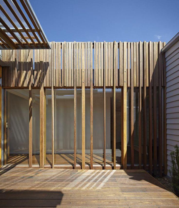 timber batten screen - Google Search