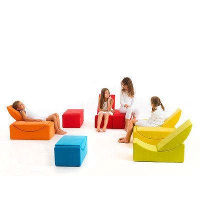 LINA MOON SMALL : la mini chauffeuse et canapé modulaire pour le bonheur des petits !