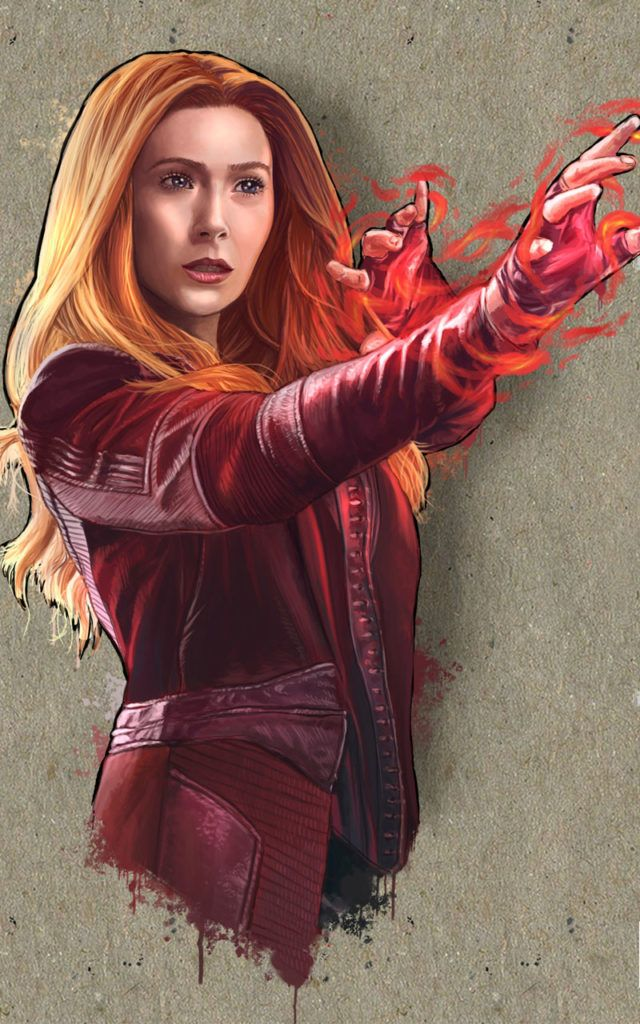 Avenger Scarlet Witch 4k Hd Wallpapers 2020 Scarlet Witch