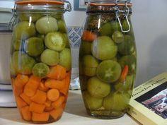 Cómo preparar encurtidos caseros. Verduras y vegetales encurtidos c