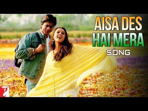Aisa Des Hai Mera - Song - Veer-Zaara - YouTube
