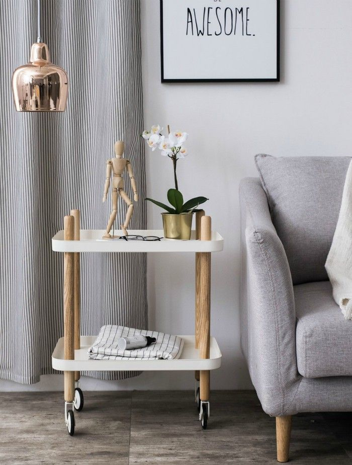 17 Trendy Coffee And Side Tables With Integrated Storage Bedside Table Decor Trendy Bedside Tables Side Table With Storage