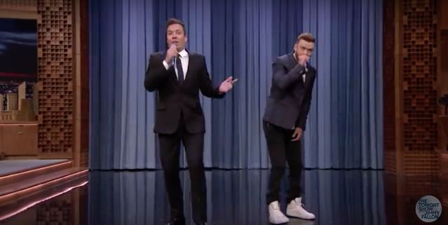 JUSTIN TIMBERLAKE & JIMMY FALLON PERFORM 'HISTORY OF RAP 6'! (VIDEO)