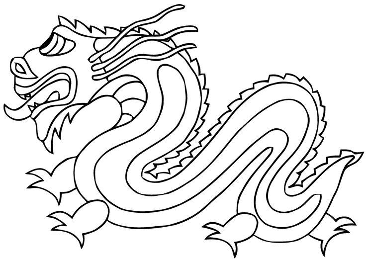 Plus de 1000 id es propos de nouvel an chinois sur - Coloriage chine ...