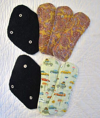 Resweater: It's Tutorial Tuesday! make your own cloth pads