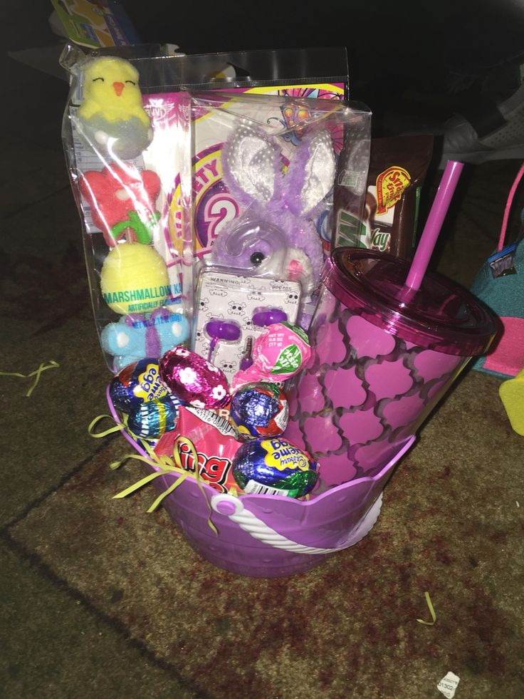 1110 best baskets tinscandy bouquet images on pinterest candy preteen girl easter basket negle Choice Image