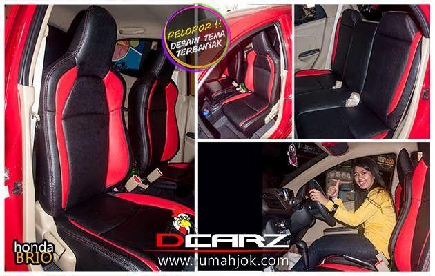 INOVATOR Sarung Jok Mobil Tema   DCARZ 021-8227931: MODIFIKASI SARUNG JOK MOBIL HONDA BRIO SPORTY STYL...