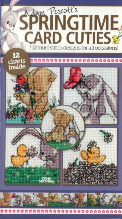 Springtime Cuties The World of Cross Stitching Issue 186 February 2012 Saved